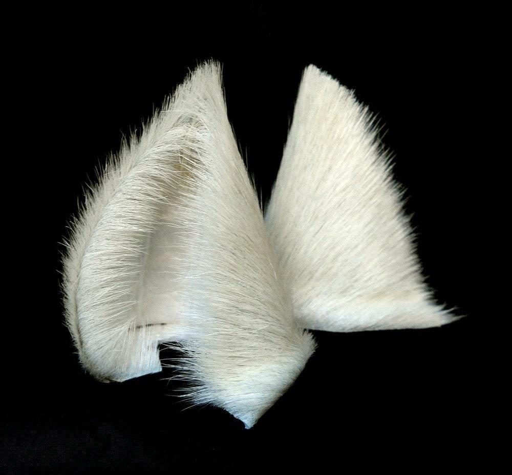 How To Make White Cat Ears Headband