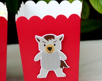 Little Red Riding Hood Snack Boxes- Set of 12