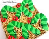 Caterpillar Cookies 1 dozen