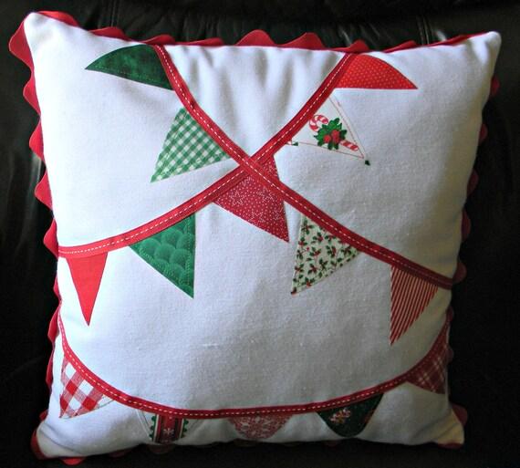 Christmas Banner Pillow