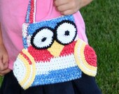 Patriotic Owl Purse, 4th of July Owl
