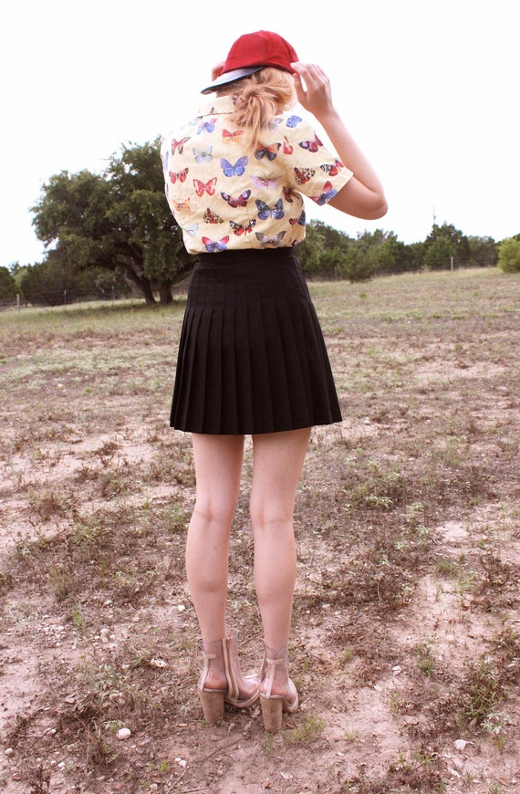 Vintage Butterfly Button-up