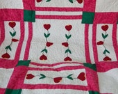 Many Hearts Quited Wall Hanging