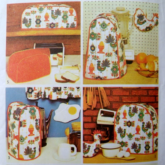 Kitchen Appliance Covers Sewing Patterns