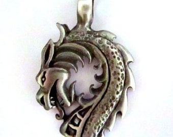 Pewter Serpent Pendant