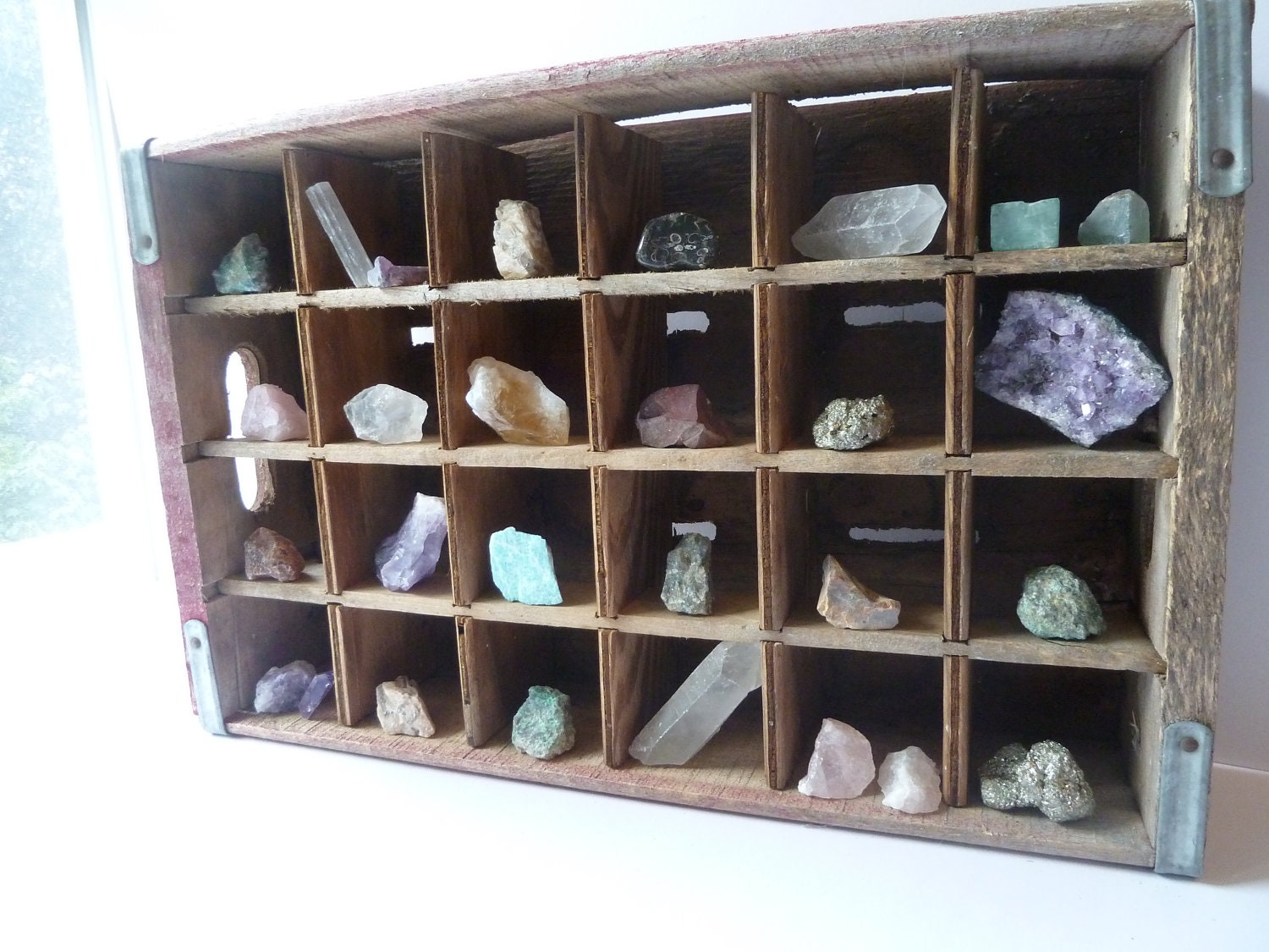 Crystal And Rock Collection Rustic Home Decor Crystal