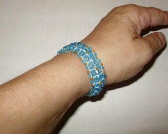 Hand Woven Swarovski Bracelet