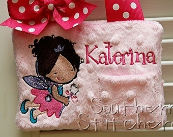 Tooth Fairy Pillow for Girls Personalized Great Gift Birthday Gift Choose Skin Color, Dress, Eye, Hair Color Customized to your child