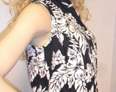 Vintage  80's  LEE Sleeveless Button Down  TOP Shirt Sz Small