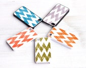 SKETCHED CHEVRON iphone cover by MOONDROPS ///// fits 4 or 4s