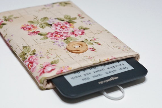 Nexus 7 Cover, Kindle Fire Cover, Nexus 7 Case, Kindle Keyboard, Blackberry Playbook, Kobo Vox Cover, Kindle Fire Case - Roses
