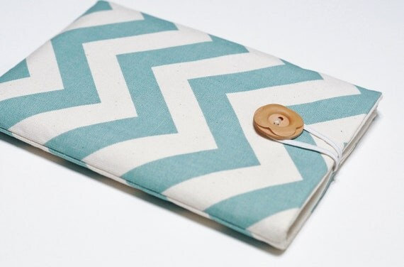 Nexus 7 Cover, Kindle Fire Cover, Kindle Keyboard, Nexus 7 Case, Kobo Vox, Samsung Galaxy Tab, Kindle Fire, Tablet Cover - Creamy Chevron