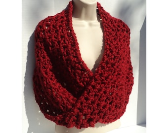 Simple Elegance - CROCHET PATTERNS BUNDLE - Mobius cowl, Neck Scarf and Shawl...