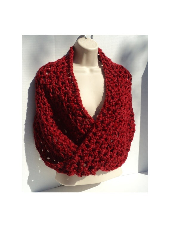 Crochet PATTERN - Simple Elegance Mobius cowl, Neck Scarf and Shawl ...
