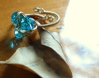 Magical Zora's Sapphire Twist Ring