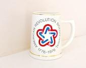 Vintage Bicentennial Mug by American Decorators