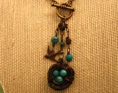 Robin's Nest Toggle Necklace