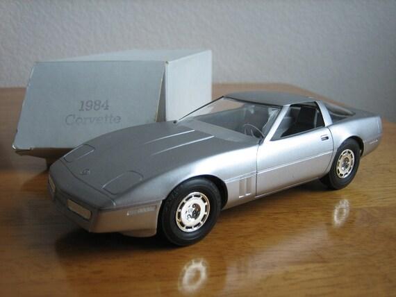Vintage Corvette Promo Car with Box  1984