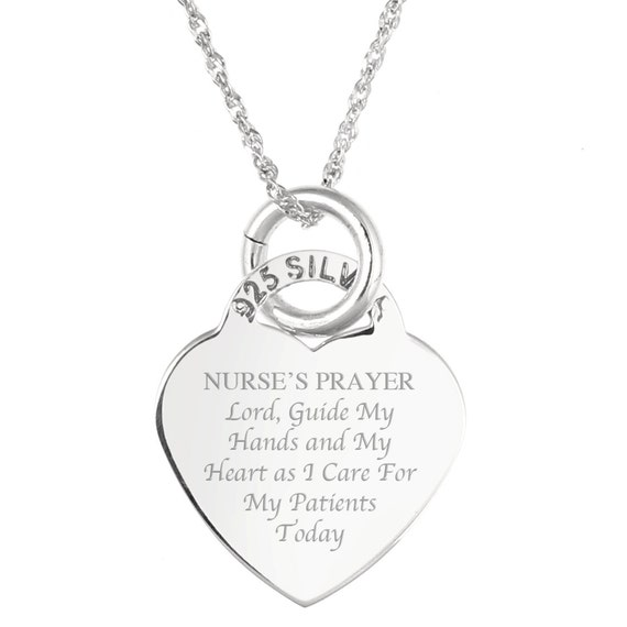a s prayer sterling silver by jewelrypersonalised