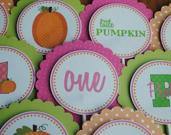 NEW - Pumpkin Patch Cupcake Toppers