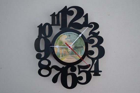 Vinyl Record Album Wall Clock (artist is America)
