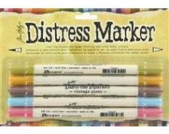 Tim Holtz - MEMORIES PAST - Distress Marker Pens Set of 5