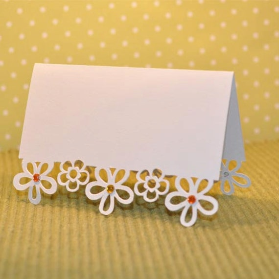 Place card table arrangements! | Wedding Receptions in ... |Flowers For Wedding Place Card
