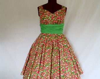Soda Jerk Custom Made Swing Dress