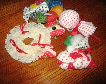 Hand Made Christmas Ornaments for Christmas in July Sale