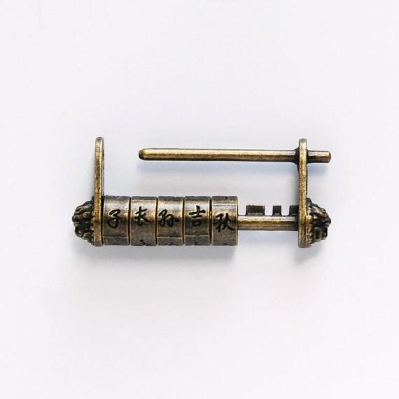 Antique Combination Lock