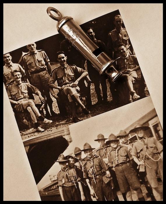 Vintage Whistle : Original Acme Scout Master Whistle