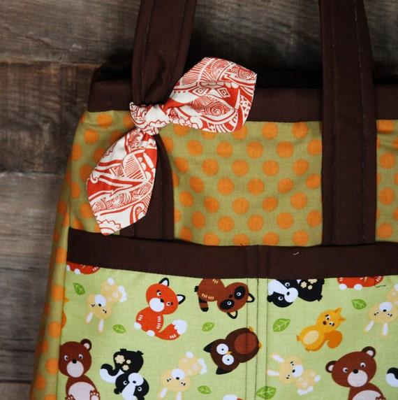 Diaper Bag / Clutter Bag / Tote Bag