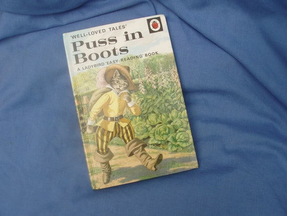 Vintage Ladybird Book Puss in Boots Series 606D Well-Loved Tales Grade 2