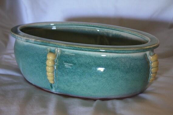 Very Attractive Oval Ceramic Planter