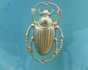 Small Rounded Beetle Scarab (2 pc)
