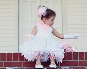 Sweet Petals Flower Girl/Special Occasion Dress By FabTutus - other color options available