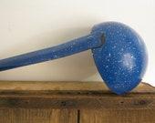 Vintage Blue Graniteware Ladle