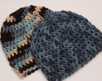Baby Hat - Baby Beanie - Crochet - Handmade