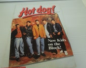 Rare Vintage New Kids on the Block NKOTB  Hot Dog Scholastic Book number 62