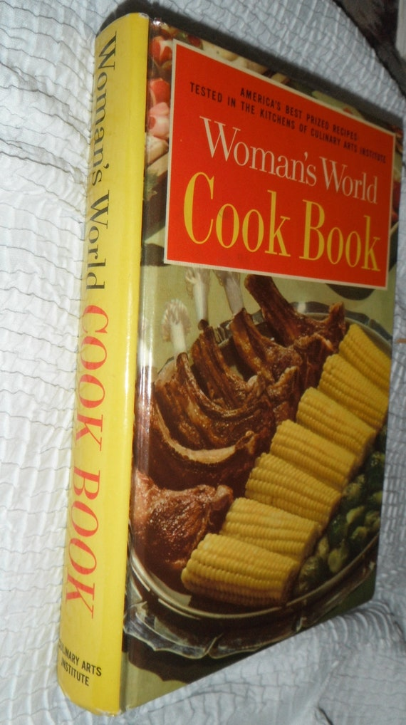 Book 1961 Womans World Cook Book 1961