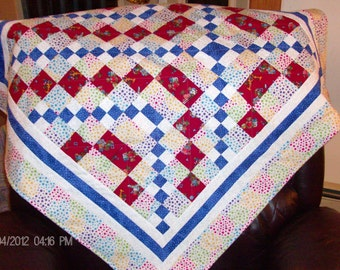 Baby Quilt, Carrie Nation Quilt Block
