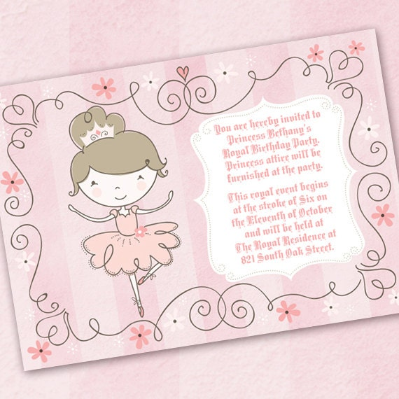 Pinkalicious invite – Pinkalicious Birthday Invitations