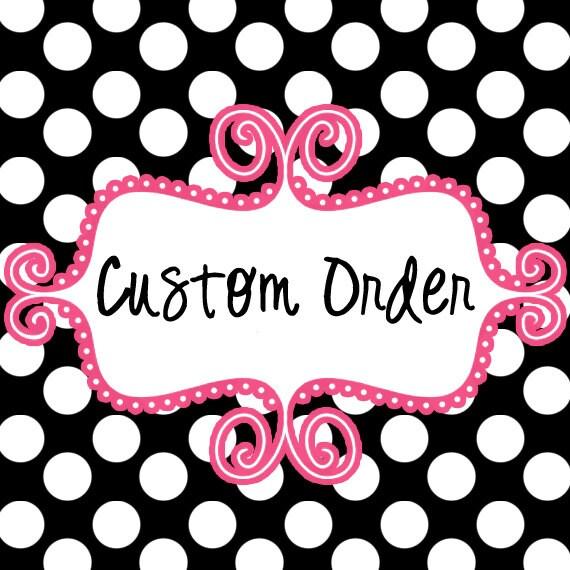 Custom Order - Embroidery Design - ANYONE
