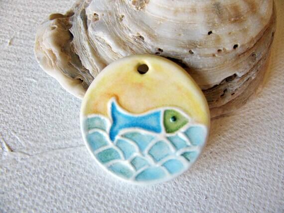 Fish in the Sea Pendant