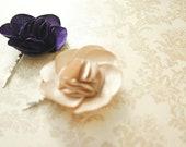 Handmade Rose Hair Pin