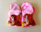 Beauty and the Beast Mittens