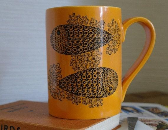 Vintage Pisces Mug - Portmeirion Pottery