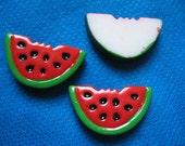 20 Resin Watermelon Flatback B119