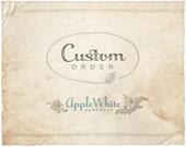 Custom listing for Vasiliki
