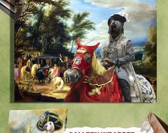 Skye Terrier Art Skye Terrier Print Skye Terrier Dog Painting Skye Terrier Gift Skye Terrier Portrait Custom Dog Portrait